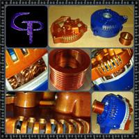 MERCURY MISTIQUE 2.0 -2000- 200AMP TEAM GP Alternator
