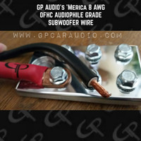 GP AUDIO 'Merica NO BS WIRE OFHC Audiophile 8 AWG
