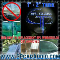 "*SALE* GP SPL GLASS 1"" OEM Replacment Windshield"