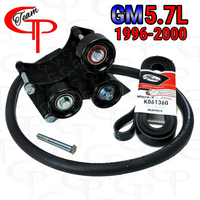 Team GP TRIPLE Alt Bracket 1996-2000 GM 5.7L