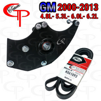 Team GP DUAL Alternator Bracket 2000-2013 GM 4.8L- 5.3L- 6.0L-6.2L