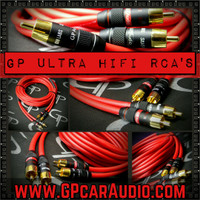 GP Audio Ultra HiFi RCA's 17 foot 2 Channel