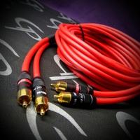 GP Audio Ultra HiFi RCA's 6 feet Strapping 1 Channel Cable
