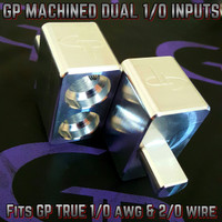 GP Machined Dual Amplifier Inputs