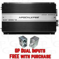 DEAF BONCE Apocalypse AAK2000.1D w/ Dual Inputs