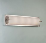 Illuminating Experiences ELF6 LED Satin Nickel Wall Light and Designed by Steven Blackman
