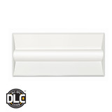 Euri Lighting 2ft x 2ft Troffer ETF24-1040S Directional LED Luminaire 42W AC1200-277 V 4000K