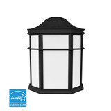 Euri Lighting Outdoor Wall Lamp EWL-1100e-BK Directional Black Finish LED Fixture 14W 120V 3000K