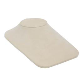 Suede Square Low Profile Neck Form - Large
