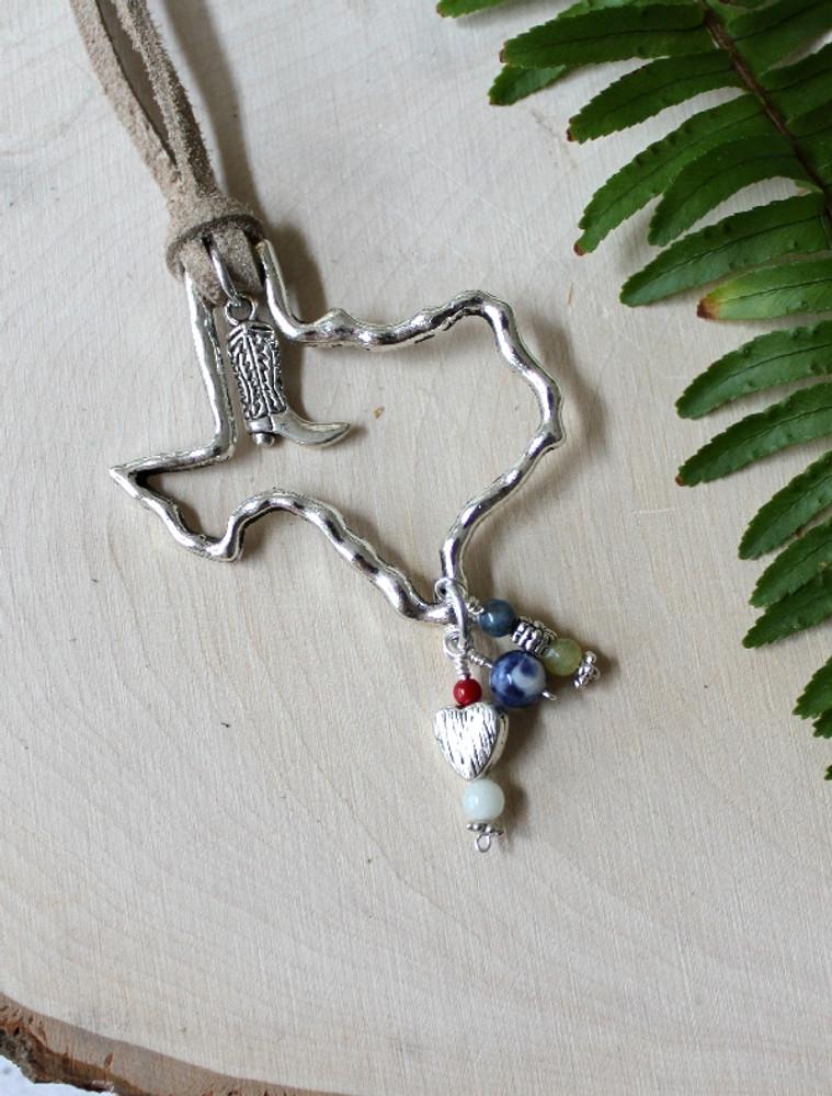 Texas Suede Necklace