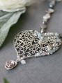 Filigree Heart Pendant Necklace