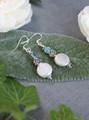 Frost Freshwater Pearl Earrings