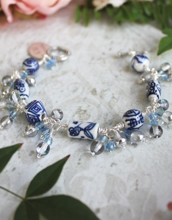 Blue Willow Bracelet