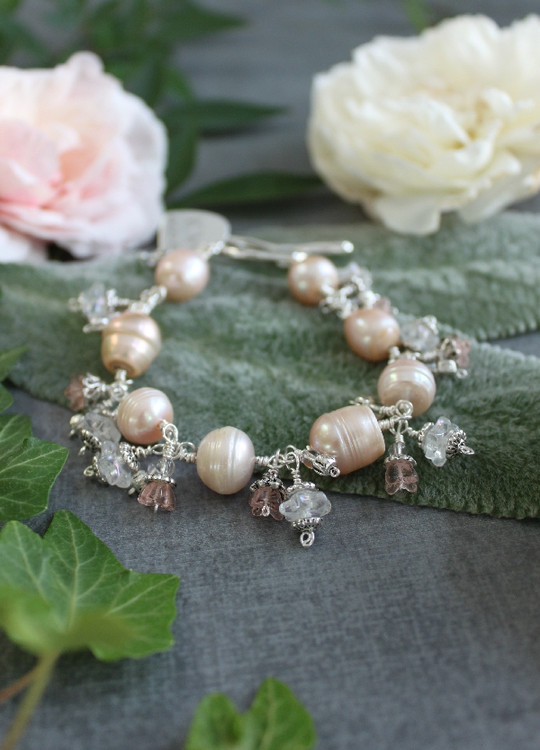 Freshwater Pearl Dangle Bracelet