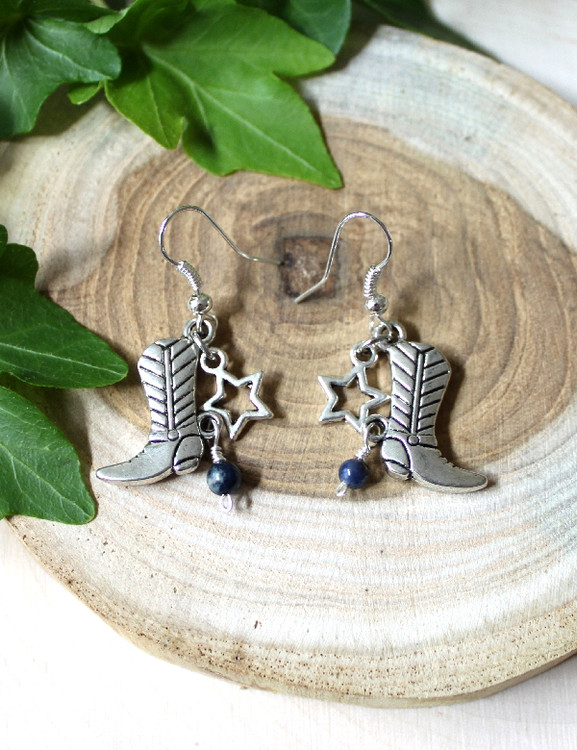 Boot Earrings