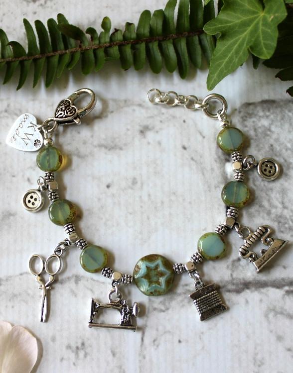 Stitch Charm Bracelet
