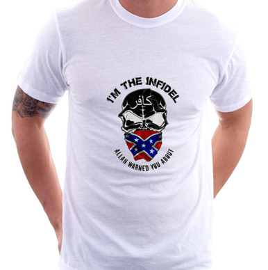 Im the Infidel Allah Warned You About Rebel T-Shirt