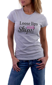 Loose lips sink Ships! T-Shirt