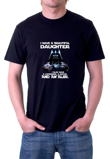 Darth Vader Daughter T-Shirt