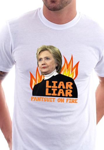 Hillary Liar Liar 2 T-Shirt