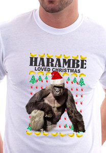 Harambe Christmas sweater T-Shirt