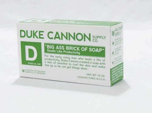 Duke Cannon Big Ass Brick of Soap - Productivity