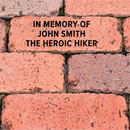 Tribute Garden Brick