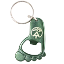 ATC Barefoot Keychain and Bottle opener
