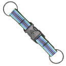 A.T. Fabric Keychain