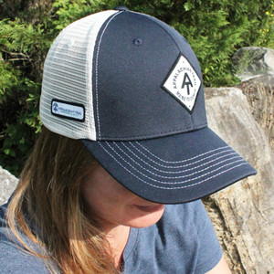 Appalachian Trail navy trucker cap.