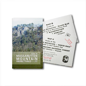 Massanutten Mountain Guide Book and Maps