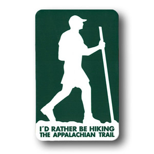 """I'd rather be hiking the Appalachian Trail."""