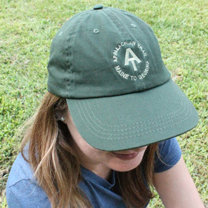 Forest-green Soft A.T. Cap