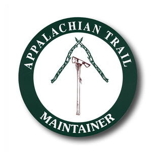 """Exclusive to the ATC, this 4.5"""" decal is for those who show pride in helping to maintain a section of the Appalachian Trail with sweat equity."""
