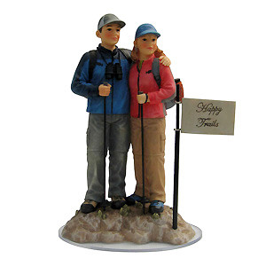 Hikers Cake Topper - 40% Off