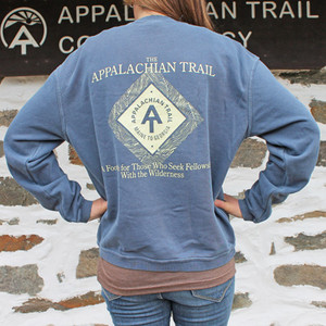 This Appalachian Trail sweatshirt is our most popular design.