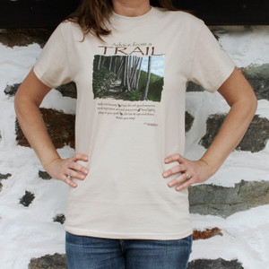 Advice from a Trail T-Shirt