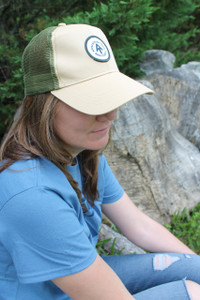 The ever popular trucker's cap now celebrating the Appalachian Trail.