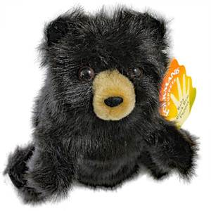 Baby Black Bear Hand Puppet - 43% Off