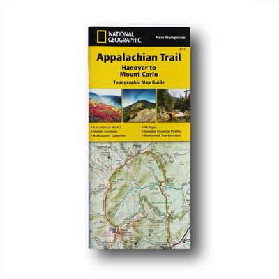 Hanover To Mt Carlo New Hampshire Appalachian Trail Conservancy - Appalachian trail new hampshire map