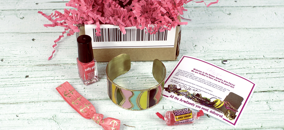 Fun jewelry delivered to your door with our jewelry of the month club