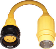 30A (125V) Locking w/Collar to 50A (125/250V) Locking,