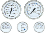 6-Gauge Set (Speed, Tach, Fuel, Volt, Water Temp, Oil Pressure)