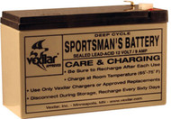 Battery & Charger, 12V, 9amp