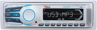 Marine MP3/AM/FM Receiver w/Bluetooth, White