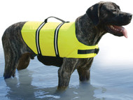 Doggy Vest, L, Neon Yellow, 50-90 lbs.