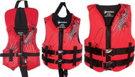 """Child, Red/Black, 30-50 lbs., 20-25"""" Chest"""