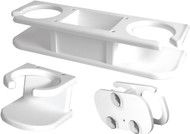 Catch-All 2-Drink Holder, White