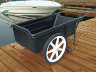 "Dock Cart with 20"" Pneumatic (inflatable) Wheels"