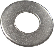 Flat Washer, SS,  #1/4, (10)